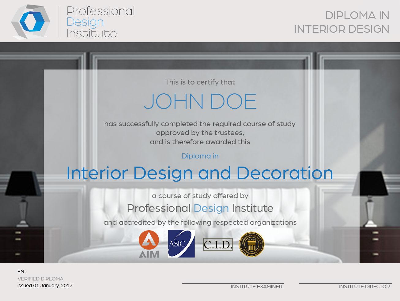 Diploma   The Design Institute